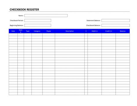 check register template free search results for blank checkbook templates calendar 2015