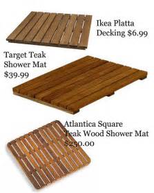 wood bath mat ikea wooden bath mat options copy blogazar flickr