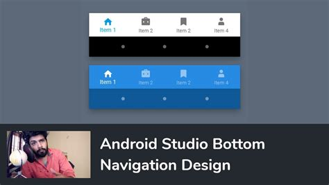 tutorial android studio gps android bottom navigation bar view tabs with fragments