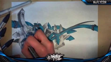 wildstyle  graffiti blackbook piece speed drawing