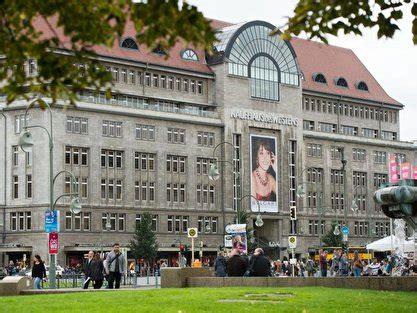 kdw berlin onlineshop kadewe kaufhaus des westens berlin 1 au 223 enansicht des