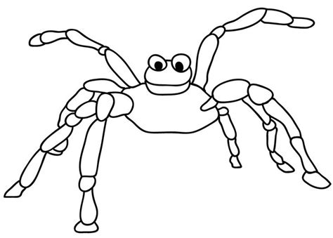 cute spider coloring pages cute spider coloring page cute spider pinterest