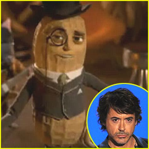 Who Is The Voice Of The Planters Peanut by Robert Downey Jr Mr Peanut S New Voice Robert