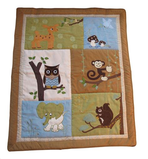Woodland Friends Crib Bedding by Baby Boutique Forest Friends 13 Pcs Crib Nursery Bedding