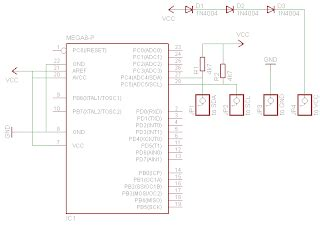 davide gironi avr atmega 74hc595 library 01 davide gironi avr atmega bmp085 bmp180 pressure sensor