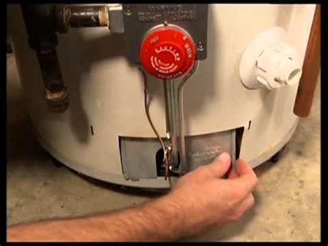 water heater problems pilot light bonfe s how to light the pilot light on a water heater