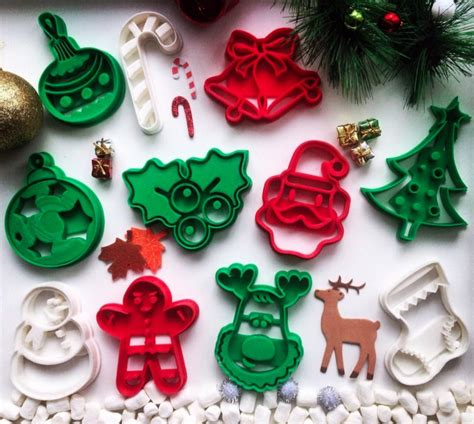 christmas 3d cookies weekly roundup ten 3d printable cookie cutters 3dprint the voice of 3d