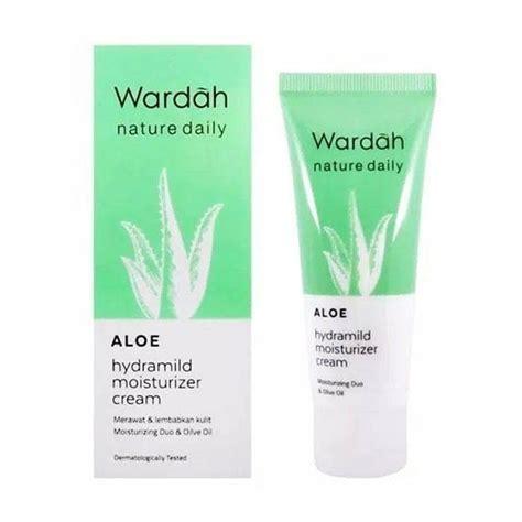 Harga Wardah Aloe Hydramild Moisturizer wardah aloe hydramild moisturizer 40 ml