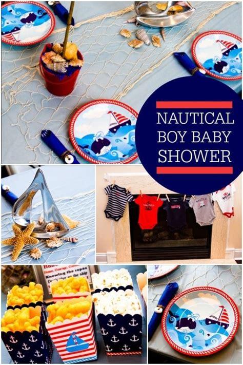 Baby Boy Nautical Shower by Baby Boy Nautical Shower Ideas Www Imgkid The