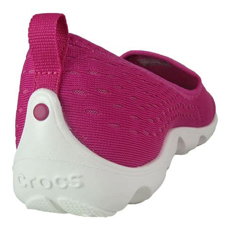 New Crocs Skimmer Pink crocs duet busy day xpress mesh skimmer shoes ebay