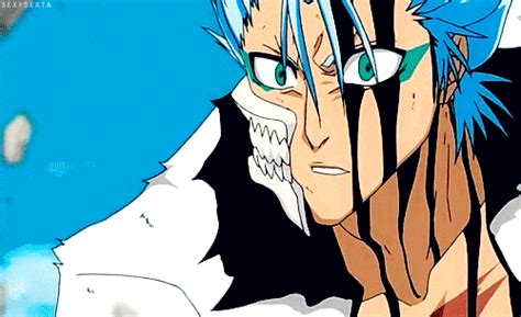 grimmjow jaegerjaquez bleach gif find share  giphy