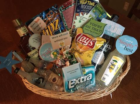 Good Christmas Food Gift Baskets #1: Best-best-25-co-worker-leaving-ideas-on-pinterest-new-job-party-inside-gift-baskets-for-coworkers-designs.jpg
