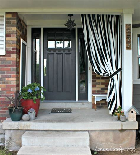 front porch curtains front porch curtain for the home pinterest