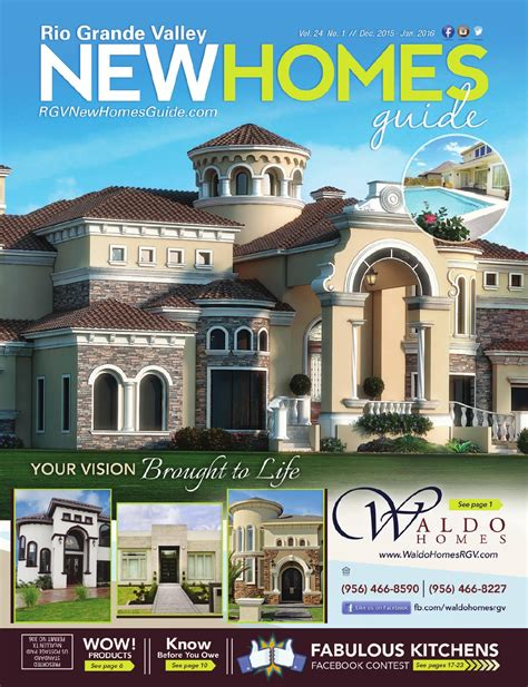 rgv new homes guide vol 24 1 dec 15 jan 16 by rgv