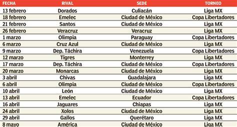 Calendario Liga Mx 2016 Pumas Pumas Comienza Traves 237 A En Liga Mx Y Libertadores R 201 Cord