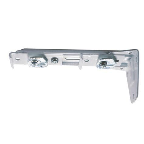 drapery brackets hardware kirsch superfine double rod end brackets 6 1 2 quot 7 1 2