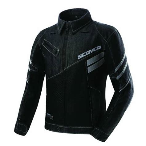 scoyco jk   jean motosiklet montu yazlik fileli siyah