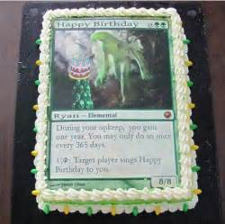 magic the gathering birthday card pin by shaw on cake ideas