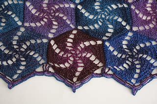 pattern library indigo ravelry indigo sunset shawl pattern by amy gunderson