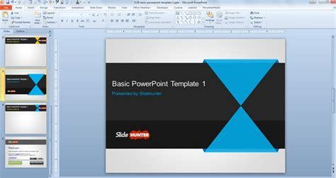 Basic Powerpoint Templates free basic powerpoint template