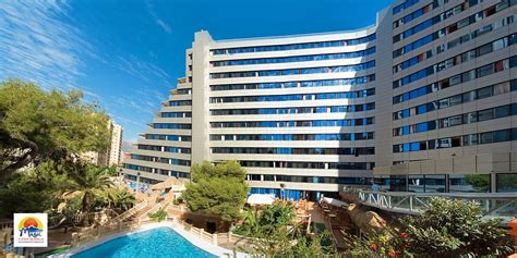 Aqua Magic Rock Gardens Benidorm Hotel Magic Aqua Rock Gardens Costa Blanca Hiszpania
