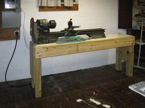 wood lathe bench stormcrow the lathe bench