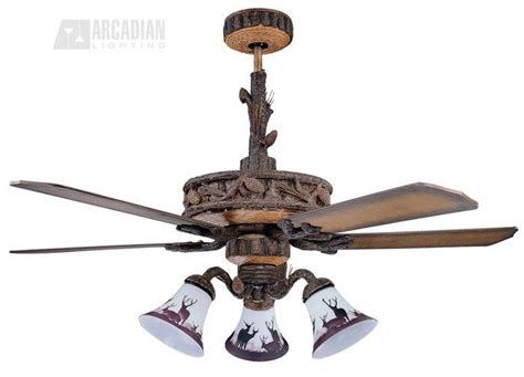 tropical indoor ceiling fans with lights concord fans 52pd5owl ponderosa 52 quot tropical indoor