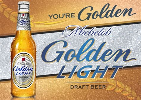 Michelob Golden Draft Light by American Beers Categories Superior Beverage Co Inc