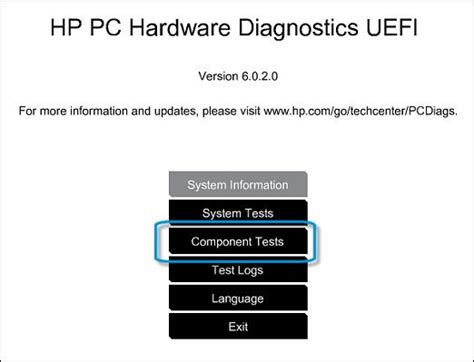 pc test hp pcs testing for hardware failures hp 174 customer support