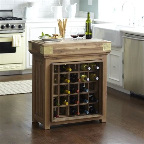 storage kitchen island chefs brown kitchen island with wine storage