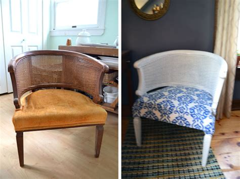 chair repair upholstery makeover thrift store chair makeover before and after angie s roost