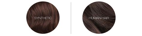 synthetic hair vs real human the differences between human hair synthetic hair wigs