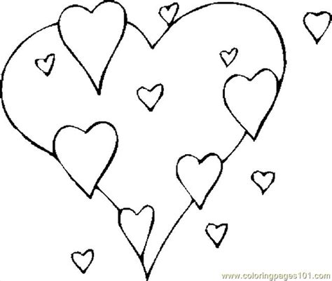 coloring pages hearts valentine free coloring pages of valentine hearts