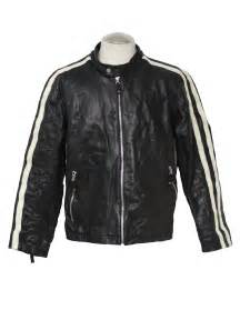 1980 s retro leather jacket 80s wilson mens black and