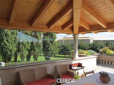 tettoia di legno tettoia terrazzo cereda legnami agrate brianza