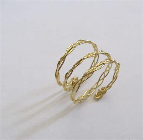 ring diy wobisobi braided wire rings diy