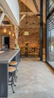 Industrial Style Floor L 31 Concrete Flooring Ideas With Pros And Cons Digsdigs