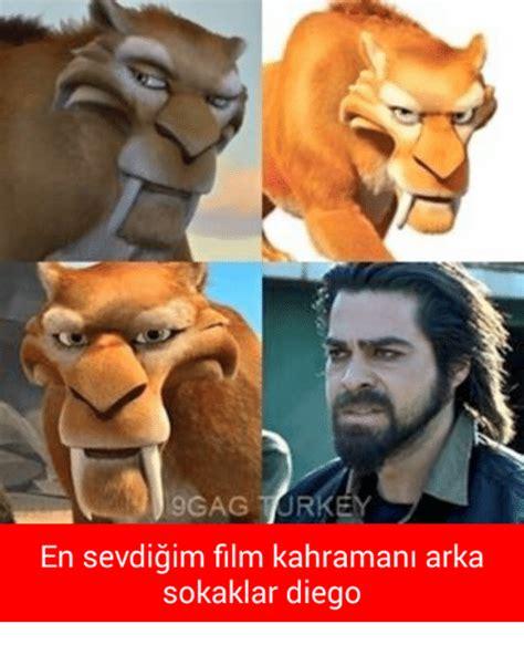 Turkish Movie Meme - 9gag turkey en sevdigim film kahra arka sokaklar diego