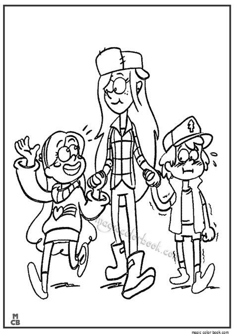 gravity falls coloring pages coloring pages ideas