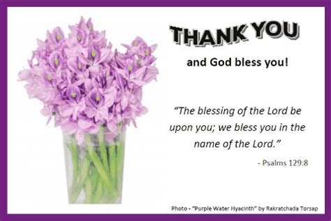 thank you and god bless you. free inspirational ecards