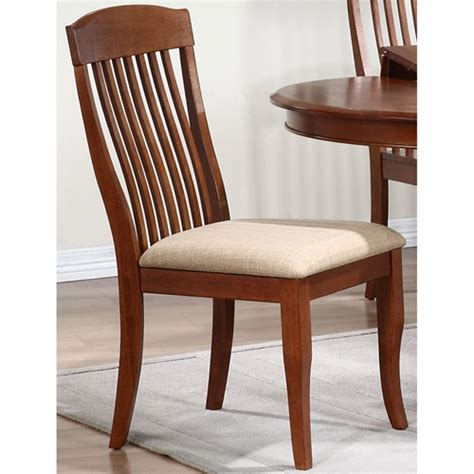 Sutcliffe Harewood Fabric Slatted Back Belga Side Chair Slat Back Fabric Seat Cinnamon Dcg Stores