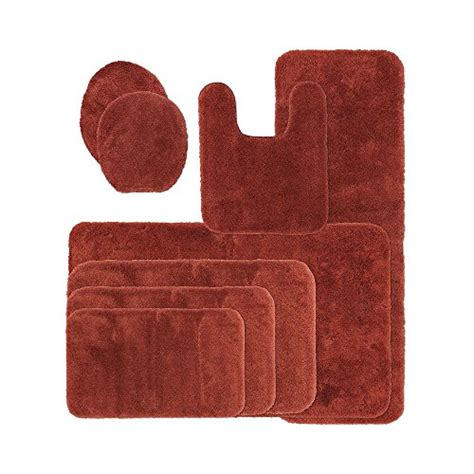Royal Velvet Bath Rugs Picture Of Royal Velvet Signature Soft Bath Rug Collection Rust Oxide