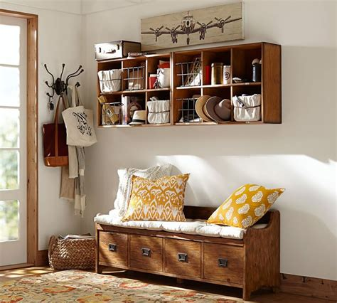 wade bench 8 welcoming entryway benches that maximize storage space