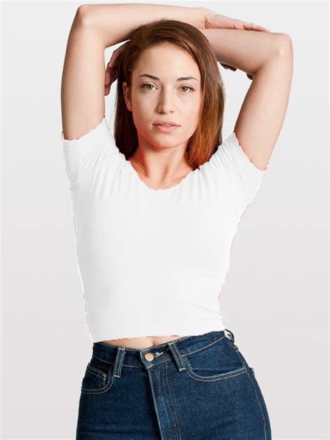 Los Angeles Crop Tshirt atlantic coast cotton home browse catalog tees