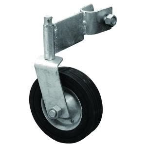 swing gate wheel for wood yardgard galvanized swivel gate wheel 328583b the home depot