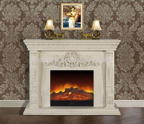 fancy electric fireplace white freestanding style decorative