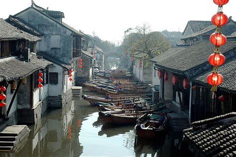 Tirai Venesia Zhouzhuang Ketika Venesia Pindah Ke China