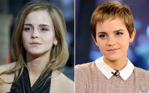 drastic hairstyle changes before and after photos 11 celebrity haircuts that were more than just haircuts