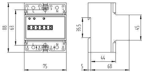 kwh meter wiring diagram