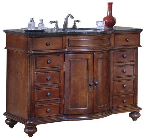 48 5 inch single sink bathroom vanity with choice of top